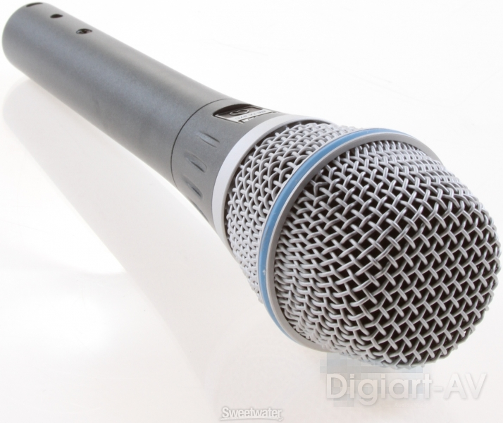 shure beta microphones - 87a vs. 87c